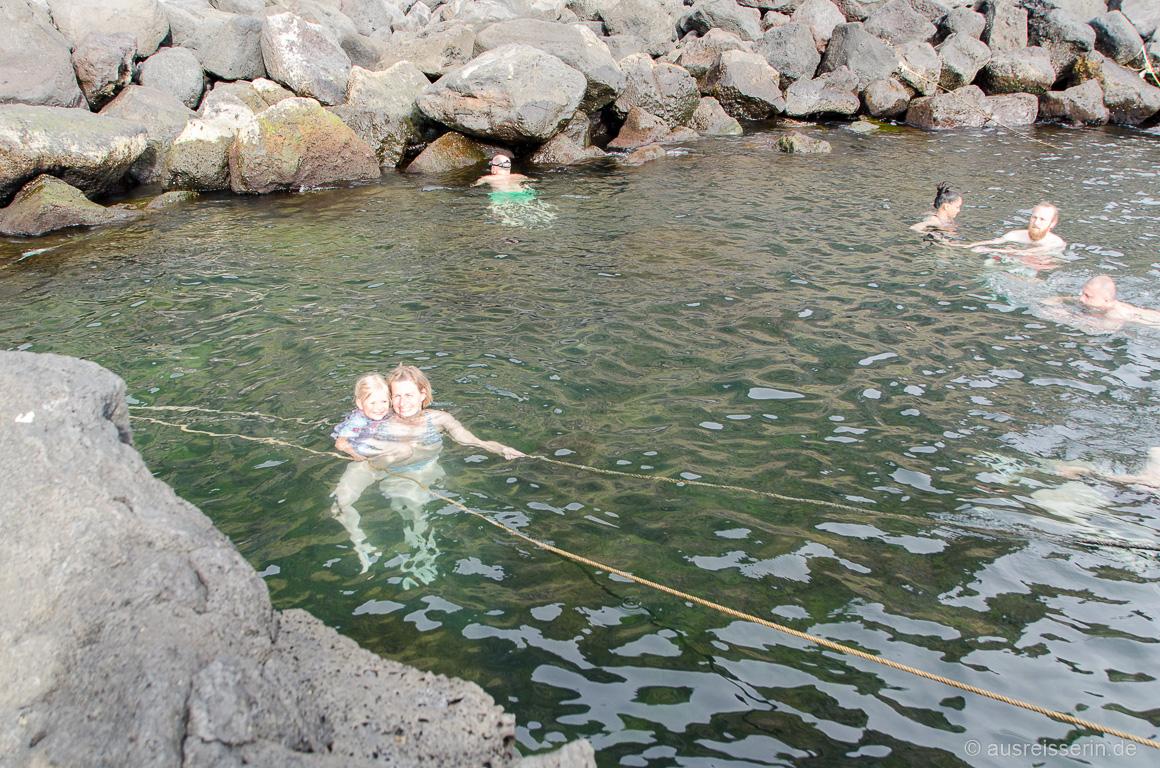 Naturschwimmbecken Ponta Da Ferraria