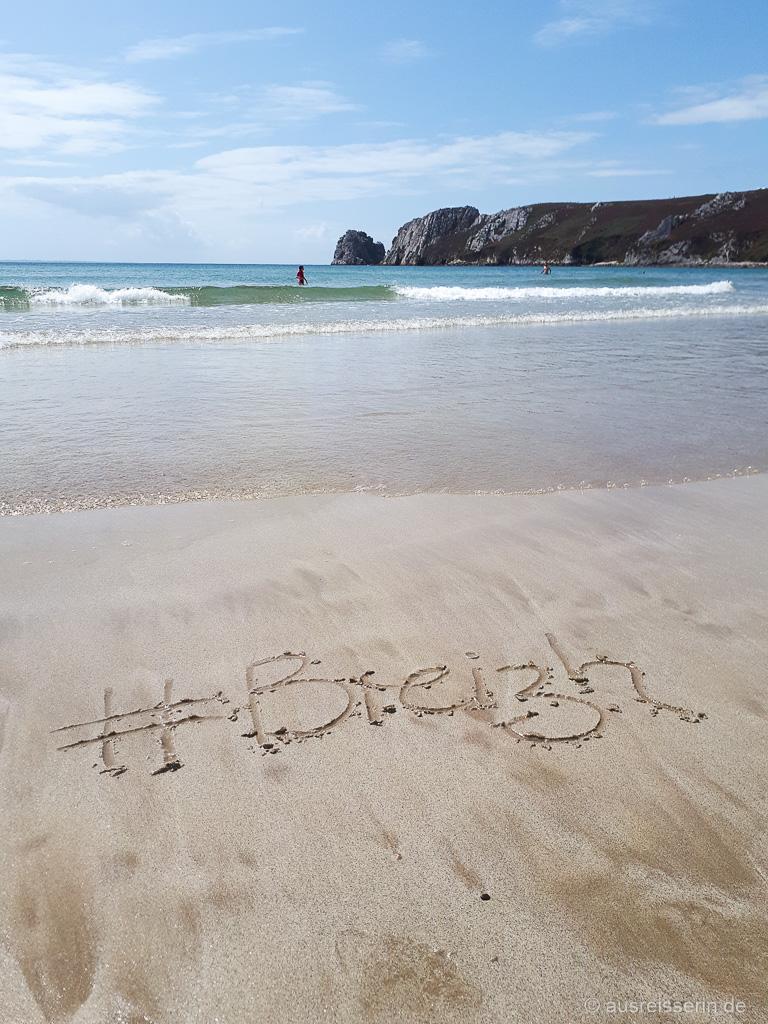 Strand im Finistère