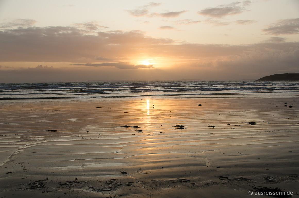 Sonnuntergang im Finistère