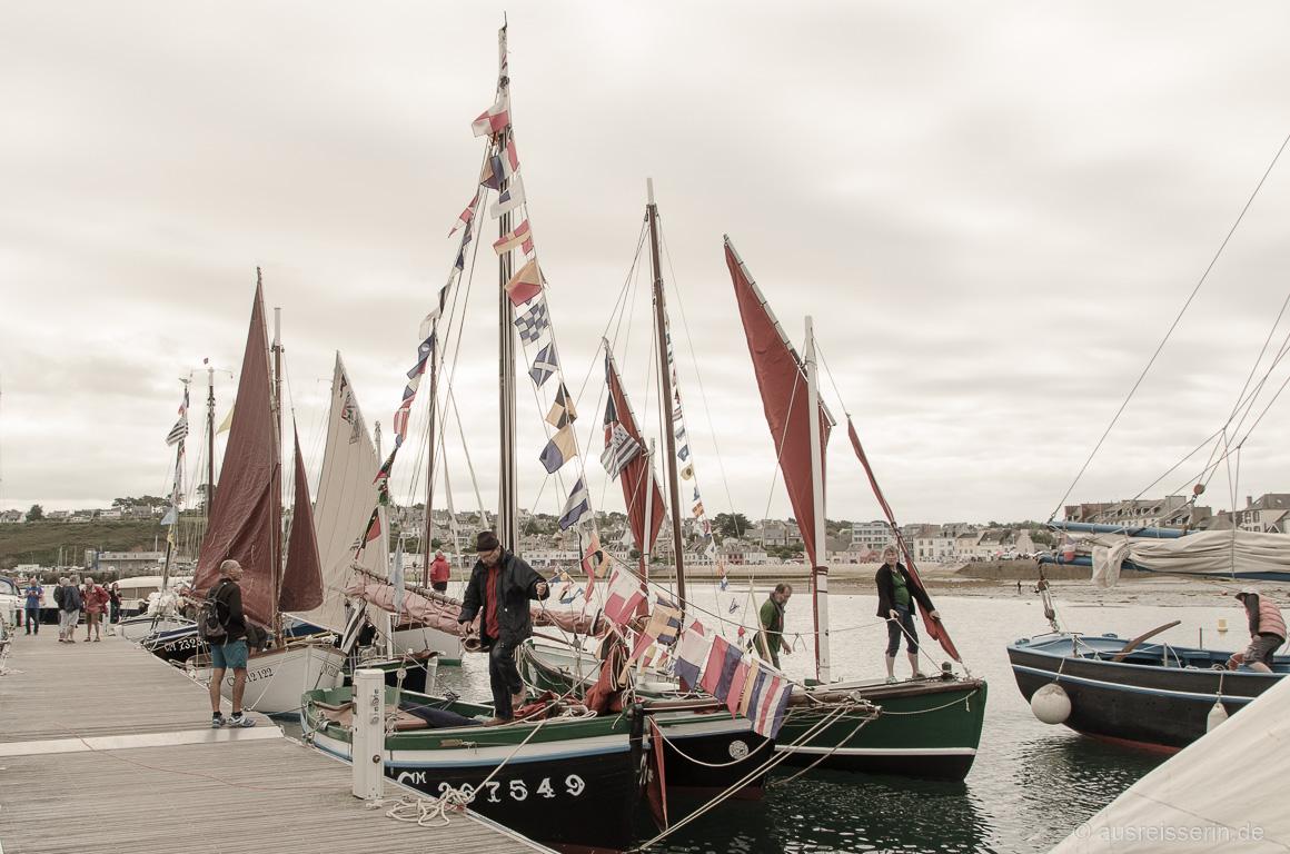 Voiles de Camaret: Fest mit alten Schiffen und Traditionen.