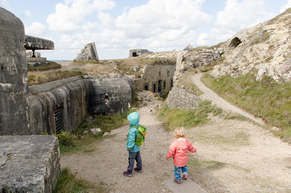 Überreste des Atlantikwalls bei Camaret-sur-Mer