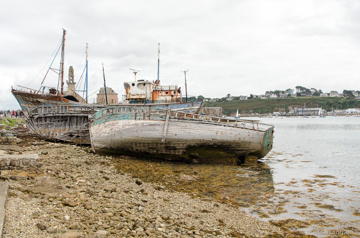 Schiffsfriedhof in Camaret-sur-Mer