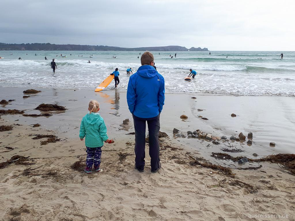 Surfin BRZ! Das Finistère ist ein spitzenmäßiger Surfspot.