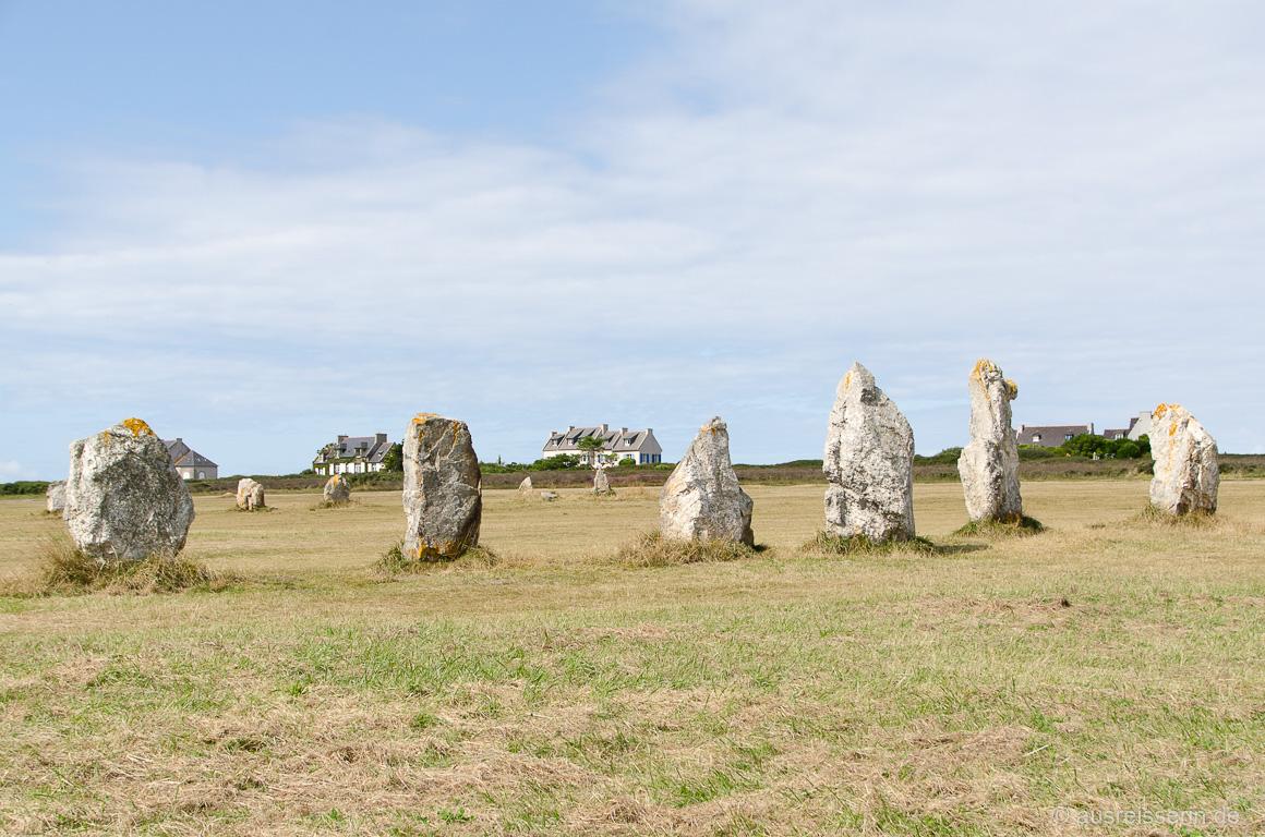 Steinreihen von Lagatjar, Camaret-sur-Mer