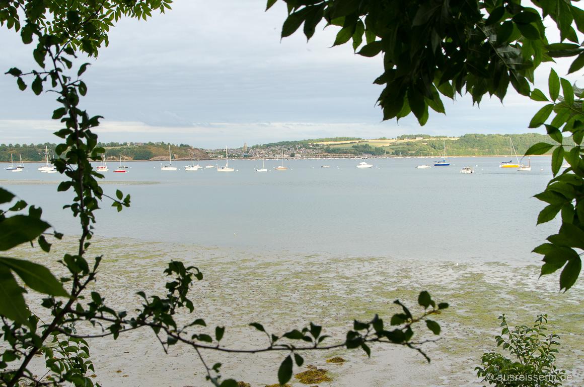 Ausblick auf die Bucht der Rance