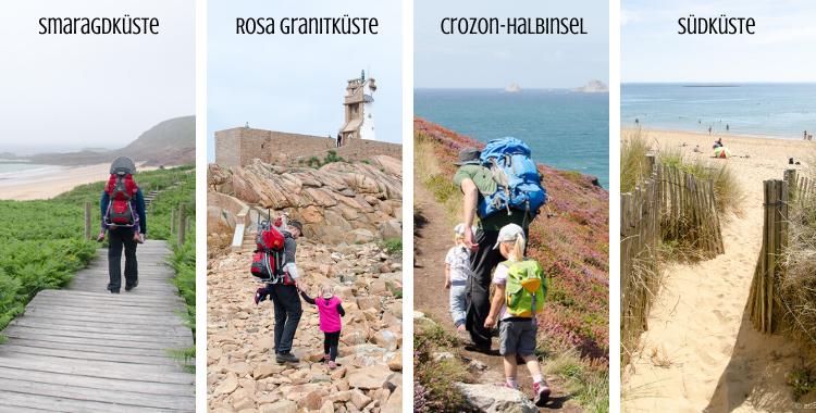 Familien-Wanderführer Bretagne