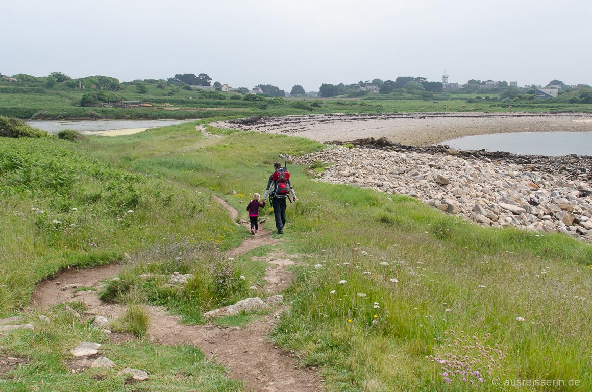 Küstenpfad auf der Île de Bréhat