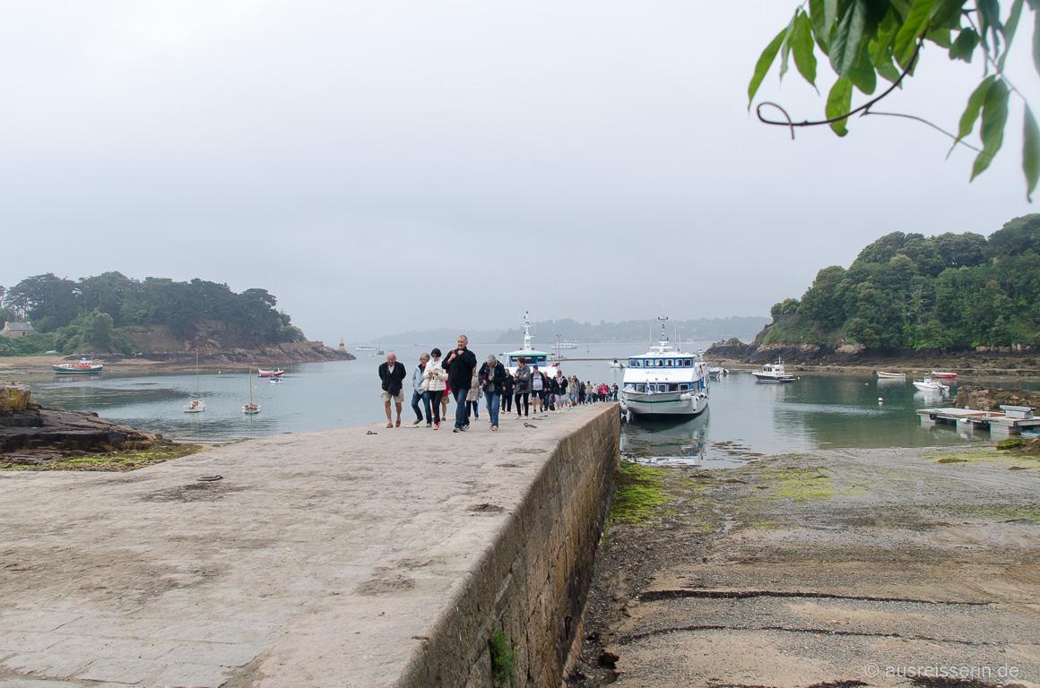 Fähranleger auf der Île de Bréhat