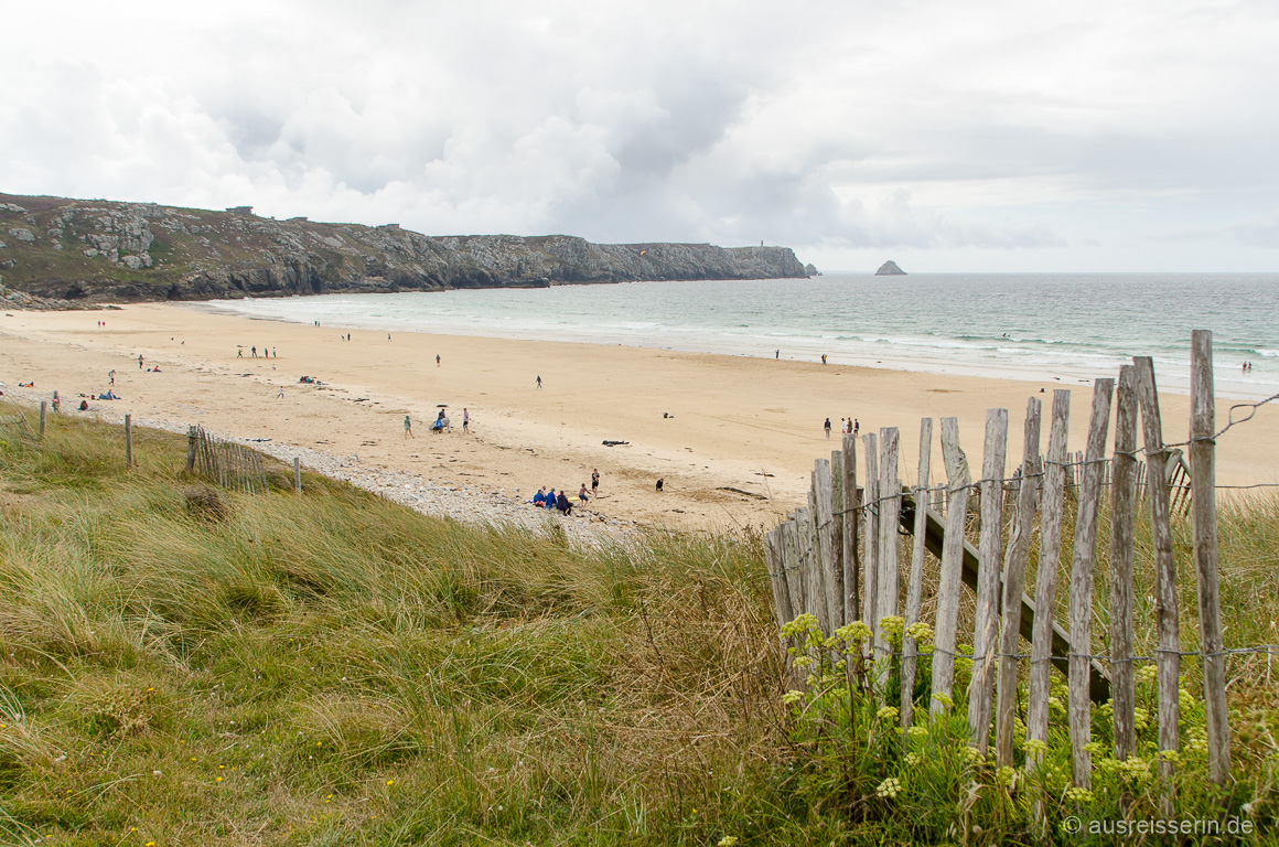 Plage de Pen Hat, Crozon-Halbinsel