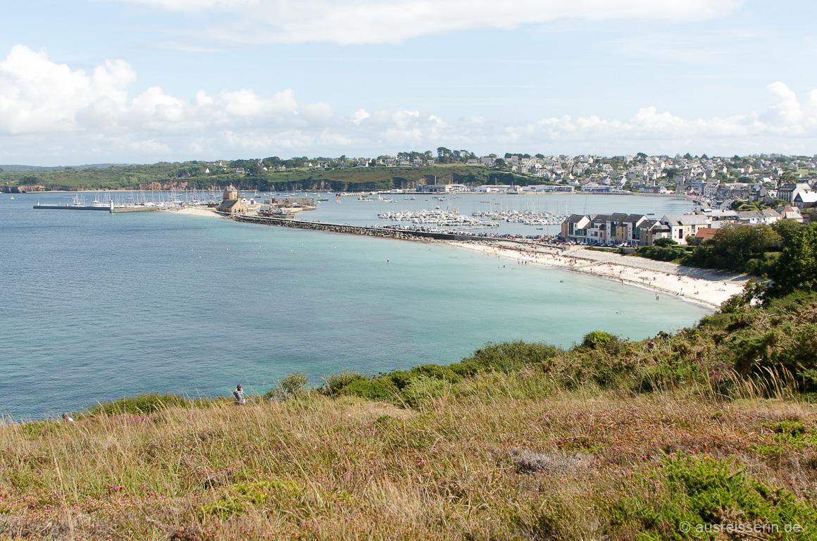 Blick auf Camaret-sur-Mer