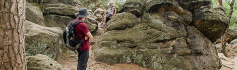Wandern und Klettern an den Dörenther Klippen