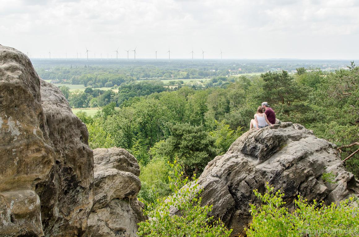 Aussicht von den Dörenther Klippen