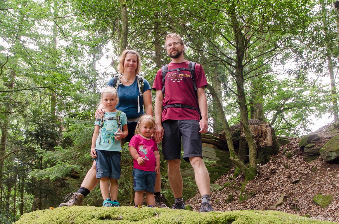 Familienfoto in der Südeifel