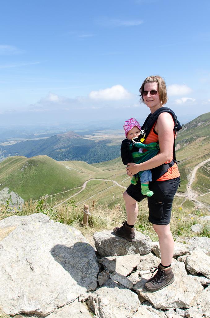 Wandern mit Babytrage