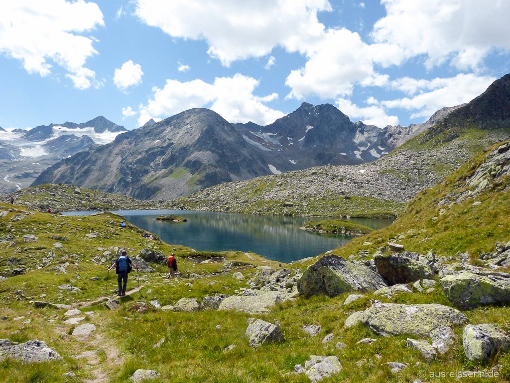 Wandern auf dem Stubaier Höhenweg